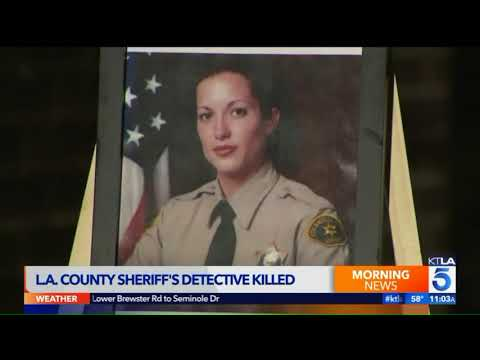 Video Shows LASD Deputy Helping Couple Before Being Fatally Struck In Valley Village