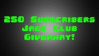 Jade Club Code Giveaway!