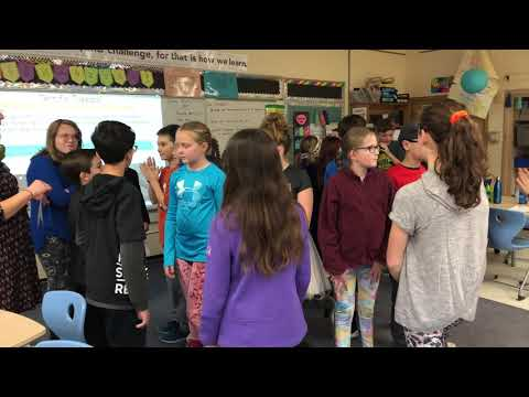30 seconds with ... Erin Wright's fifth grade class at Eberwhite