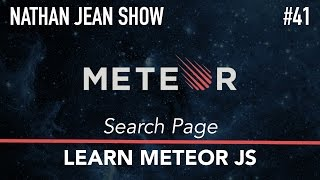 Learn Meteor: #41 - Search Page