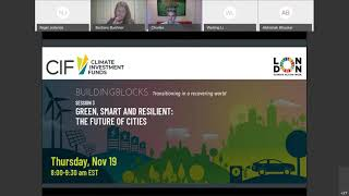 CIF TAF Event: Green, Smart and Resilient: The Future of Cities