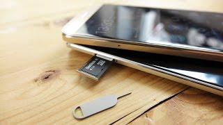 Huawei Mate S / Huawei G8/GX8: nanoSIM & microSD einlegen