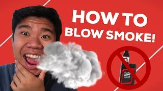 How To Blow Sm๐ke Out of Your Mouth (Safe & Easy)