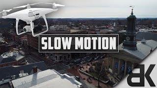 DJI Phantom 4 Pro: Slow-Mo Test