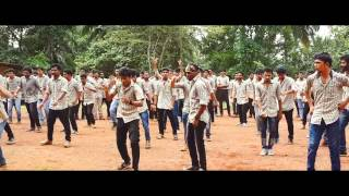 flash mob at awh engineering college