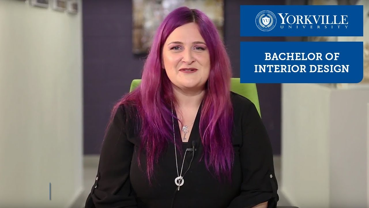 Inside The Bachelor Of Interior Design At Yorkville University Youtube