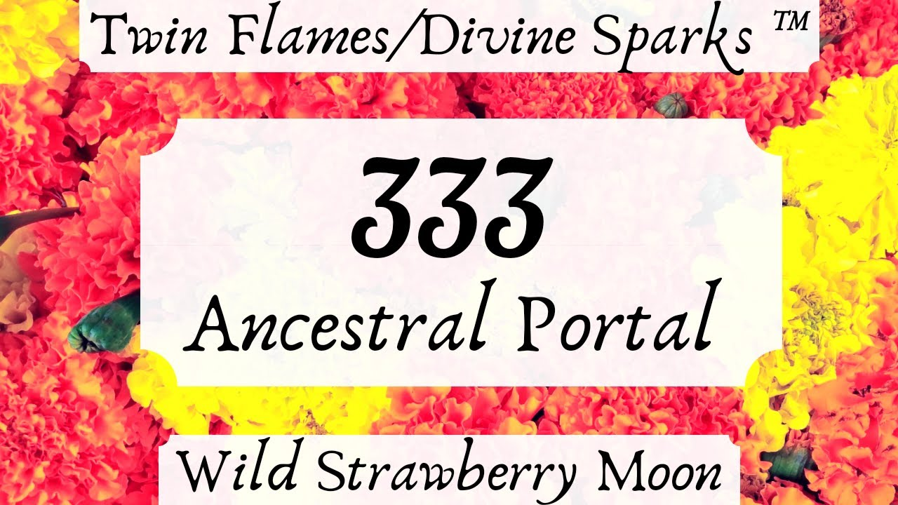 Twin Flames and The 333 Ancestral Portal - March 2019