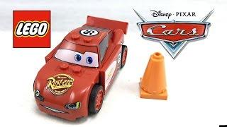 LEGO Cars Radiator Springs Lightning McQueen review! 2011 set 8200!