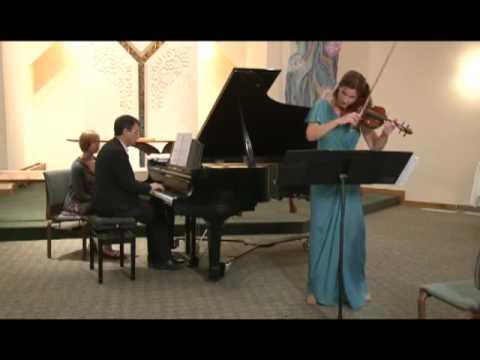 IV Solnechnaya (Sunlight) Sonata for Violin and Piano in E minor (2005) by Ivan Sokolov