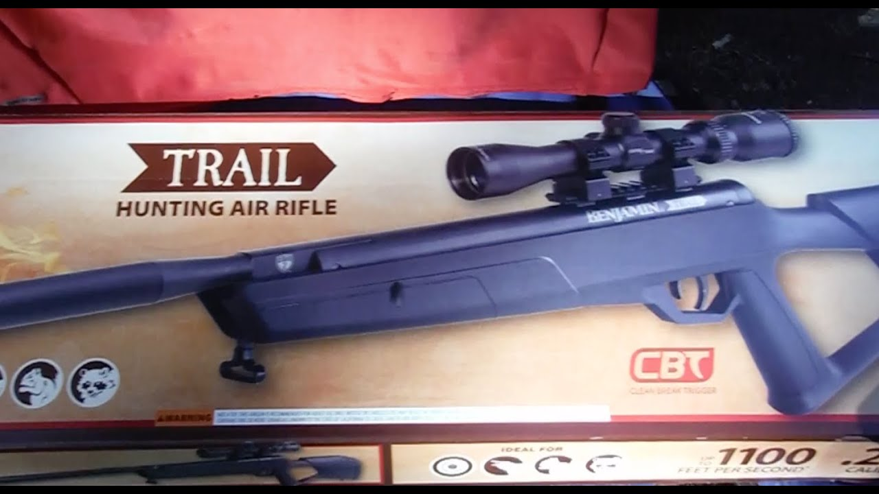 Benjamin Trail  22 cal with Nitro Piston 2 Unboxing Preview