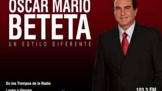 Óscar Mario Beteta. Entrevista Jesús Silva Herzog Parte 1 Lunes 12 Enero 2009