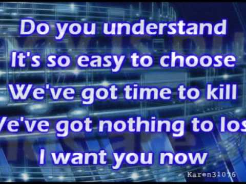 I WANT YOU NOW - Depeche Mode