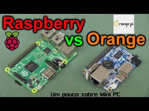 Falando Um Pouco Sobre Mini Pc(Orange Pi E Raspberry Pi)