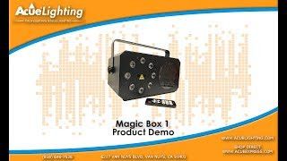Acue Lighting - Magic Box I Effect Light Product Demo