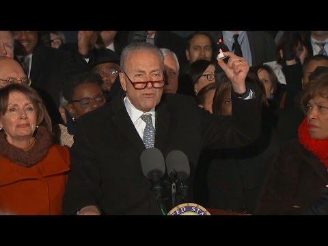 Schumer: Won't Let 'Evil Order' Make Us Less American