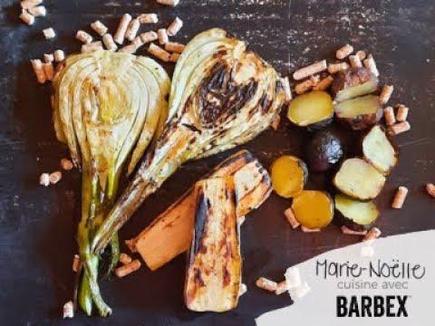 Recette BBQ Légumes grillés BARBEX - granules bois d'érable à sucre