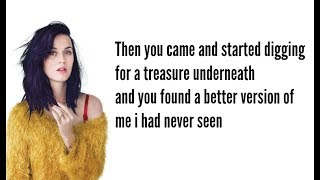Katy Perry Into Me See You Lyric Video