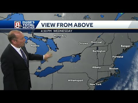 Dry weather expected into the weekend