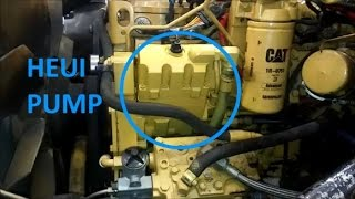 How To Change a HEUI Pump.  Cat C7, 3126, and C9