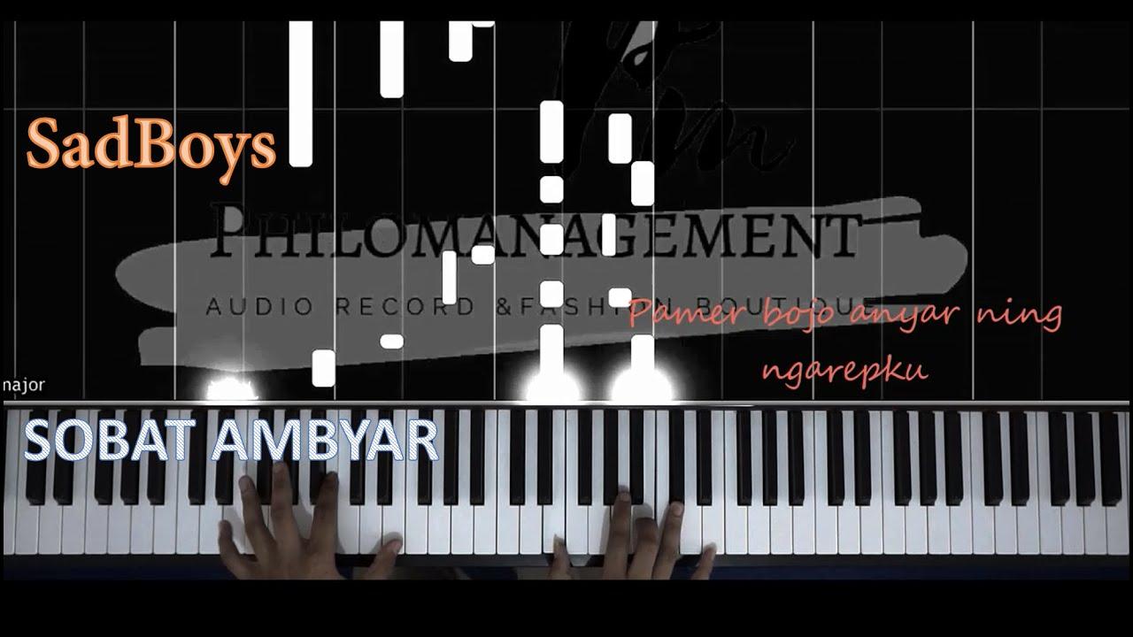 Pamer Bojo Piano Tutorial Youtube