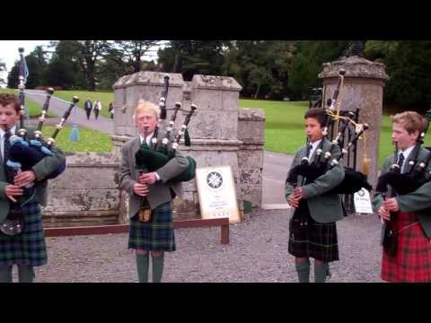 Marie's Wedding Bagpipes Scone Palace Perth Perthshire Scotland