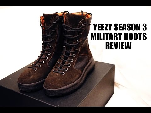 Yeezy Season 3 Military Boots Review | On Foot | Outfits