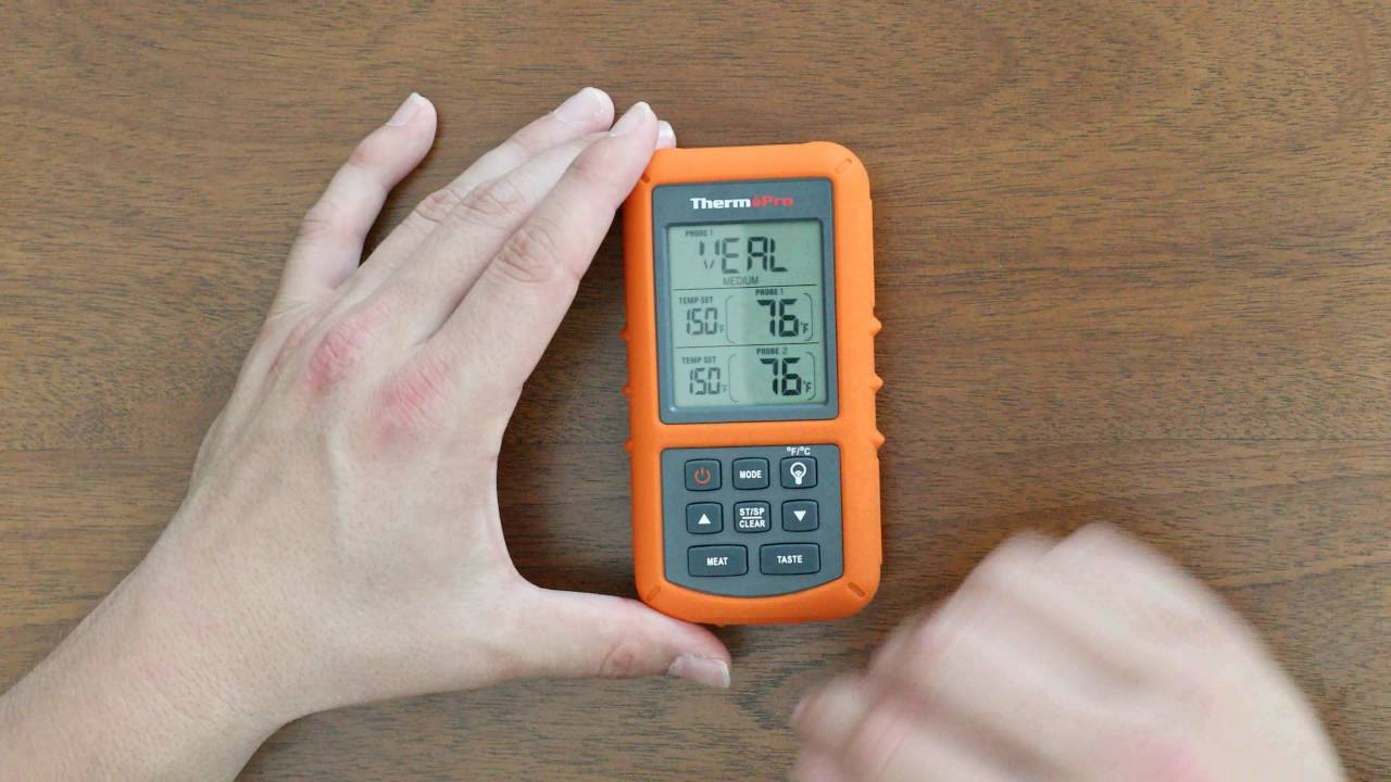 thermopro tp 20 digital wireless thermometer. Black Bedroom Furniture Sets. Home Design Ideas