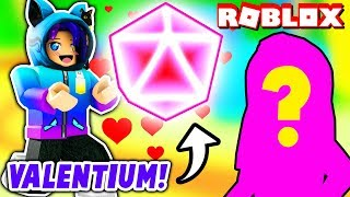 GIVING AWAY THE RAREST PET TO MY VALENTINE! Crazy Luck In Roblox Bubblegum Simulator