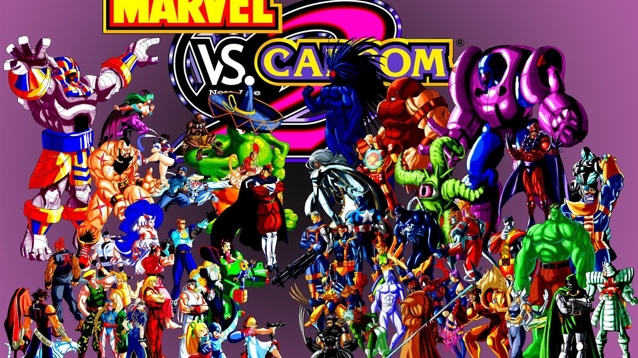 4bc0ea878e3 MARVEL VS CAPCOM 2 IS BACK BABY !!!! Online Lobby Matches   1 in ( 2017 )