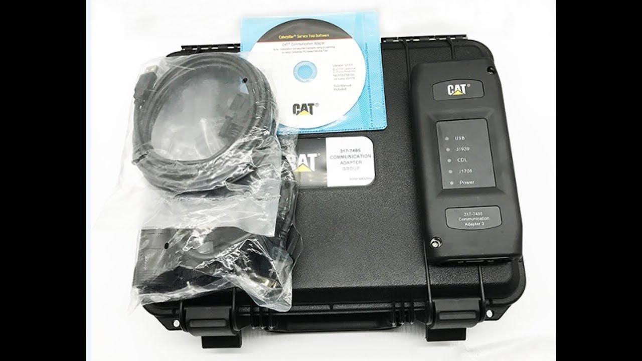 Excavator ET-3 III Diagnostic Adapter 317-7485 - JYHY DIESEL