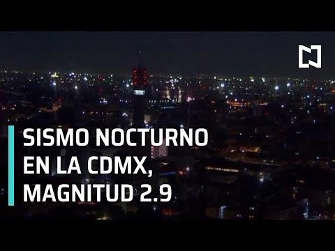 Sismo en la CDMX magnitud 2.9