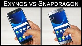 Galaxy S7 Edge - Snapdragon vs Exynos Speed Test!
