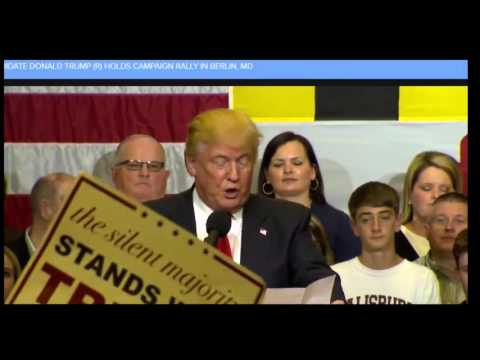 Donald Trump Maryland FULL Speech