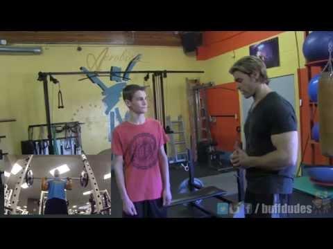Teen Beginners Bodybuilding 5x5 Strength Program 2