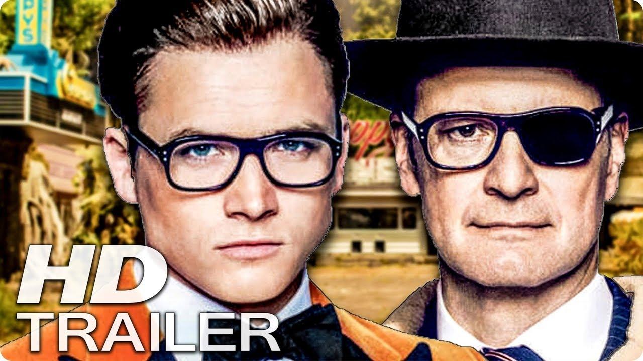 Kingsman 2 Trailer Deutsch