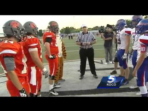 Norman High School football game features surprise return