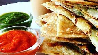 Aloo ka paratha/Indian flatbread stuffed with spicy potatoes/इस विधी से बनाये स्वादिस्ठ आलू का पराठा
