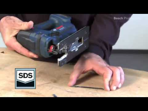 GST 18 V-LI Professional Cordless jigsaw Cordless Jigsaws Bosch power tools for professionals.flv