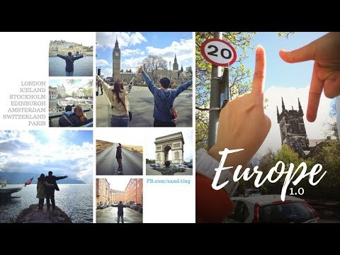 Xand's Europe 1.0 - April 2017 ✈ 🇪🇺🇬🇧🇮🇸🇸🇪🇳🇱🇨🇭🇫🇷