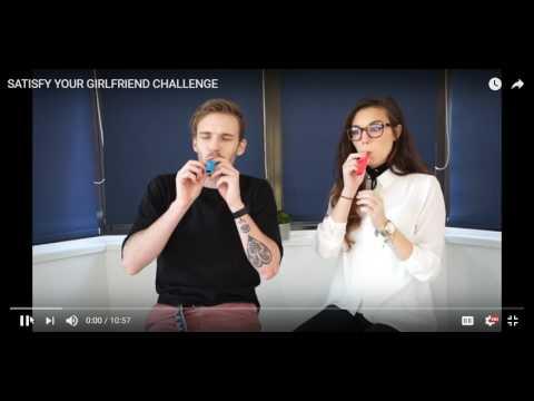 SATISFY YOUR GIRLFRIEND CHALLENGE Reaction