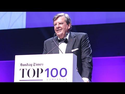 FULL ACCEPTANCE SPEECH: Dr Johann Rupert –Sunday Times Top 100 Companies Lifetime Achievement Award