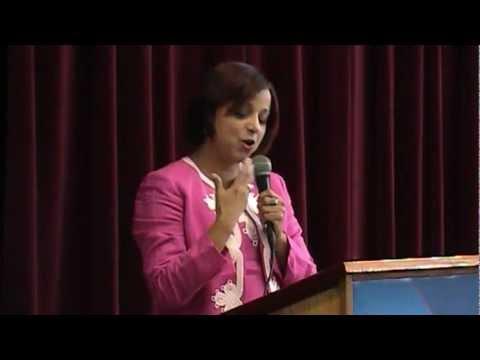 Rda. Diaconisa Dra. Olga I Colon, ponencia 'Diakonía 2012'