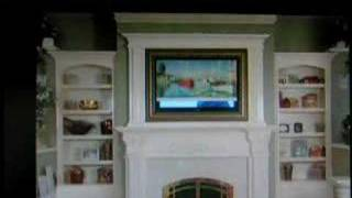 How To Hide A Flat Screen Tv Or Plasma Tv