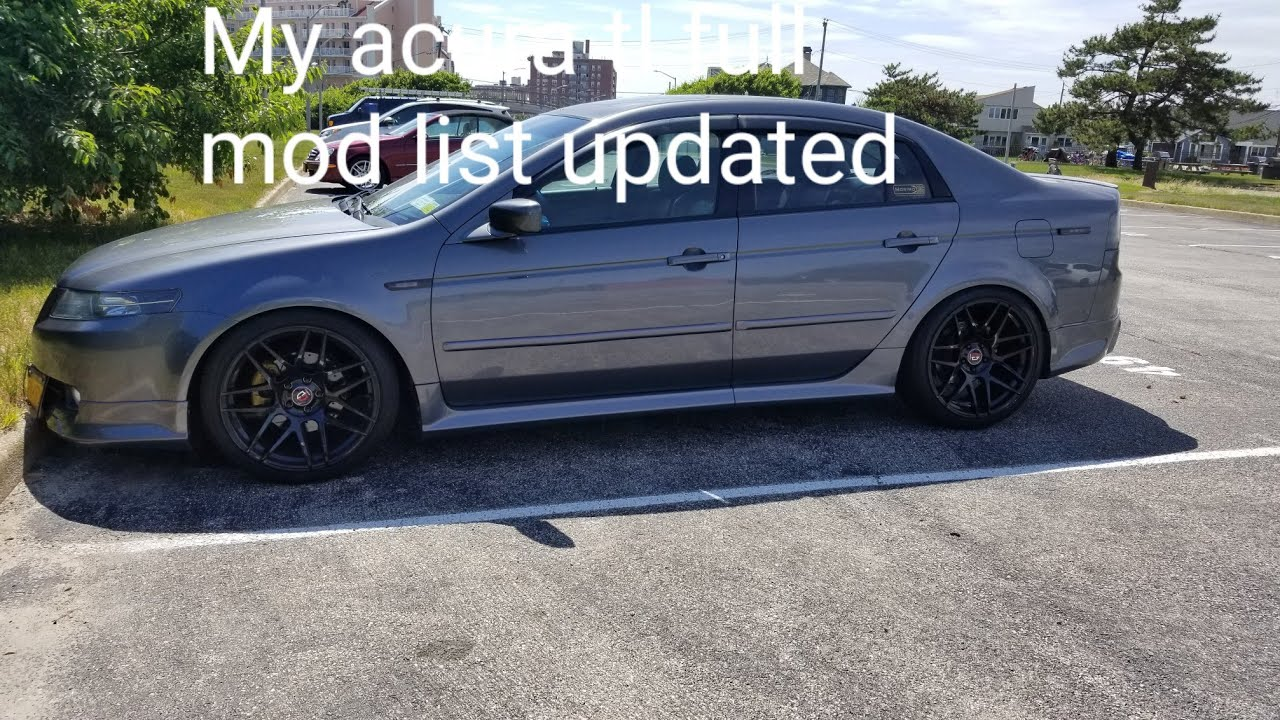 My Custom Acura Tl Mods Updated Full List