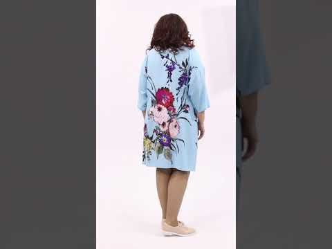 Плтье  рубашка голубого цвета