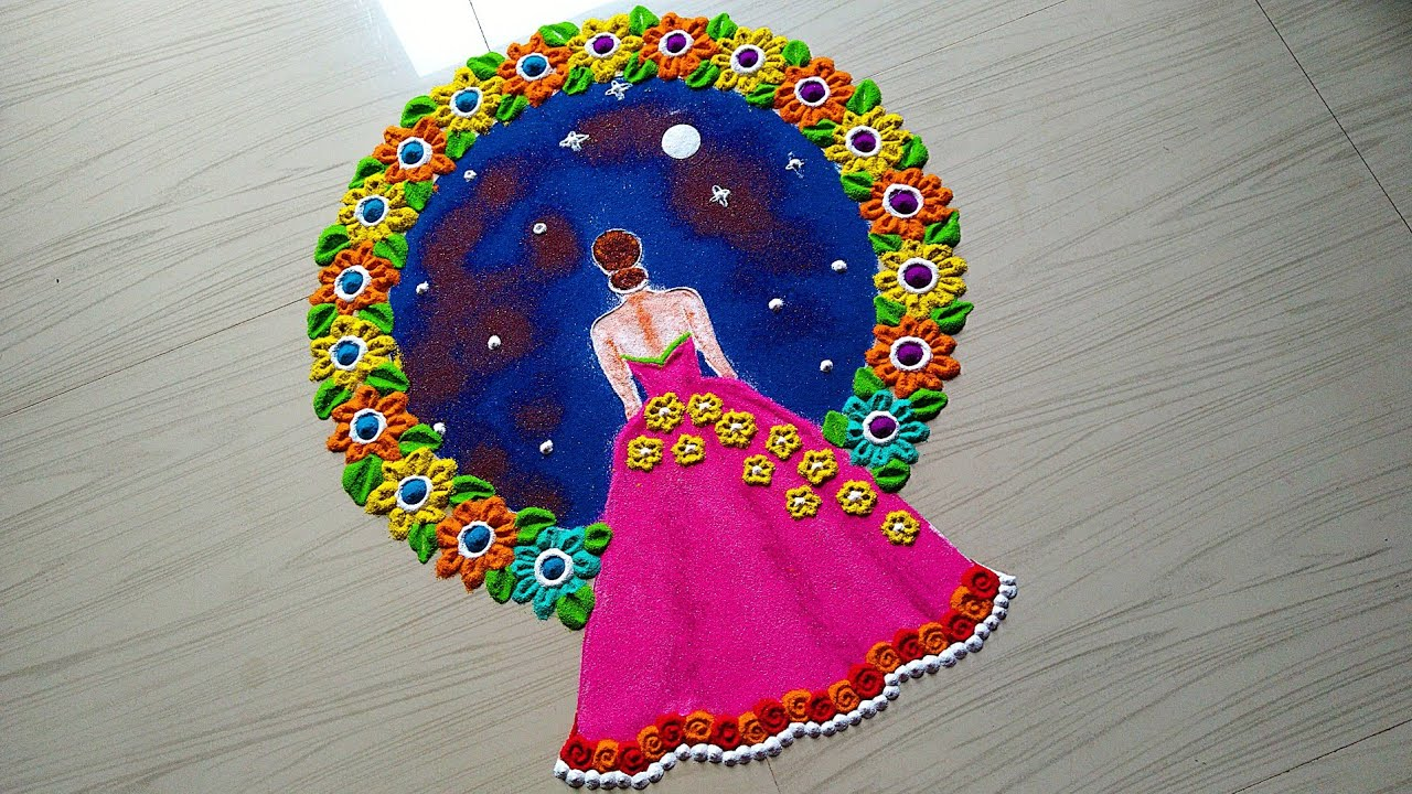 Beautiful Heart Shape Rangoli Designs With Flowers Easy Simple Small Rangoli Valentine S Rangoli By Rangoli By Jyoti Rathod Latest rangoli designs | unique & beautiful woman's… beautiful heart shape rangoli designs