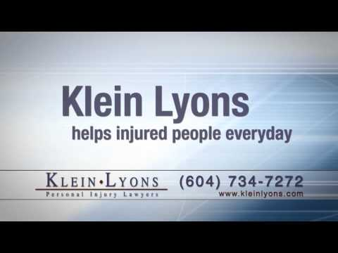 Shirley provides a testimonial for Klein Lyons after her accident.