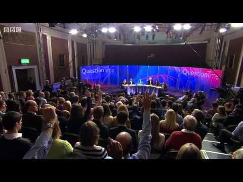 Question Time in Cambridge - 10/10/2013