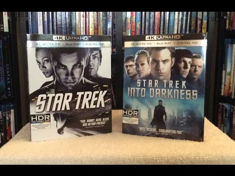 Star Trek / Star Trek Into Darkness 4K Ultra HD Blu Ray Unboxing and Review