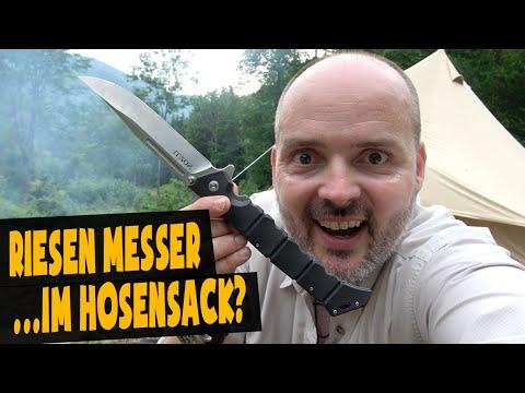 Riesen Messer Cold Steel Luzon | Survival Messer ?